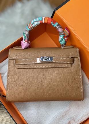 Сумка Hermes Mini 20cm (гермес, женская сумка)