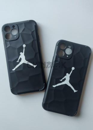 Чехол Air Jordan Nike Черный для Iphone 11 Pro