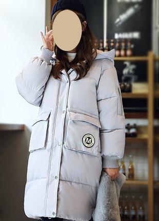 Крутое зимнее пальто на синтепоне