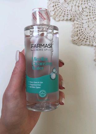 Мицеллярная вода для снятия макияжа Фармаси Farmasi
