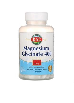 Магний глицинат (Magnesium Glycinate) 400 мг 180 таблеток