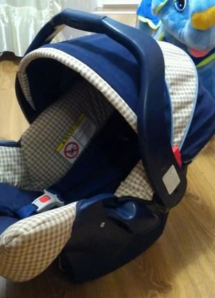 Детское автокресло (люлька) от 0 до 13 кг.