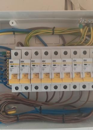 Монтаж эл.проводки в гражданских зданиях и сооружениях