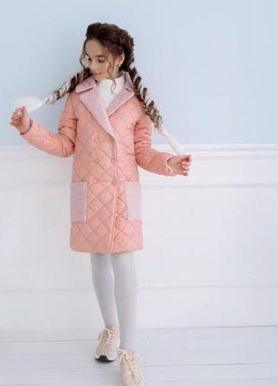 Пальто барашек 134-152 р-р