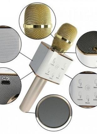 Микрофон Bluetooth Q7(в чехле)