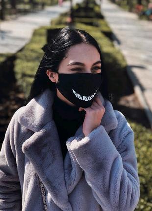 Многоразовые маски с принтом