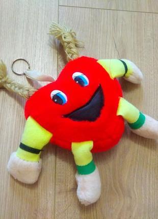 М'яка іграшка- брелок/мягкая игрушка сердце