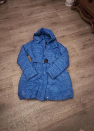 Фирменный пуховик куртка пальто