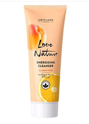 Тонізуючий очищувальний засіб для обличчя з органічним абрикосом