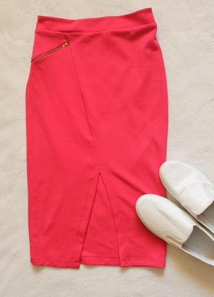 Яркая юбка карандаш от g21, размер s-m