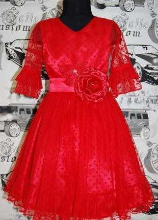 Нарядное платье rose flock