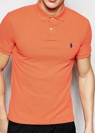 Мужская футболка поло Polo Ralph Lauren ( Ральф Лорен)