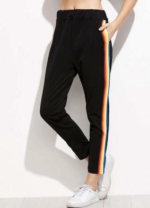 Спортивные штаны полоска