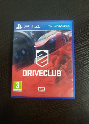 Диск PlayStation 4 Driveclub