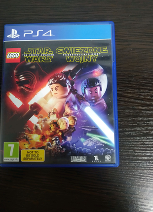 Диск PlayStation 4 lego Star Wars