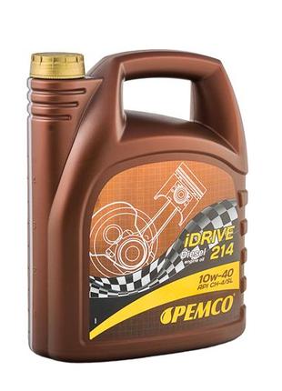 Моторное масло PEMCO iDRIVE 214 10W-40 API CH-4/SL  5 л.