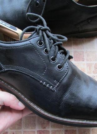 Туфли мужские кожаные clarks длина по стельке 29,5 см
