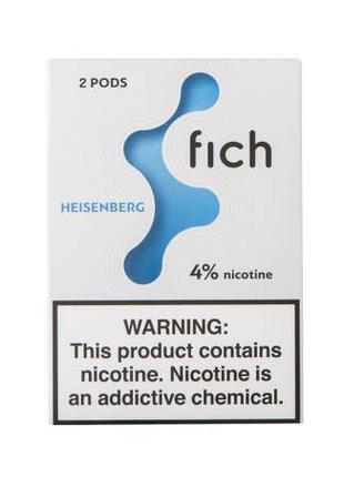 Картридж одноразовый Fich Pods Cartridge 40 мг 0.8 мл 2 шт