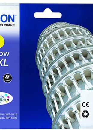 Картридж для струйных принтеров-МФУ Epson WF-5110-WF-5620 yellow