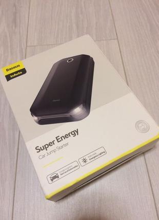 Автомобильное пусковое устройство (пуско-зарядное) Baseus Super E