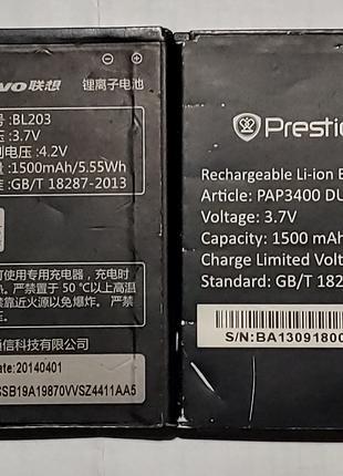 Аккумуляторная батарея Prestigio PSP3404 PSP3400