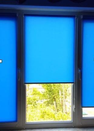 Рулонные шторы.