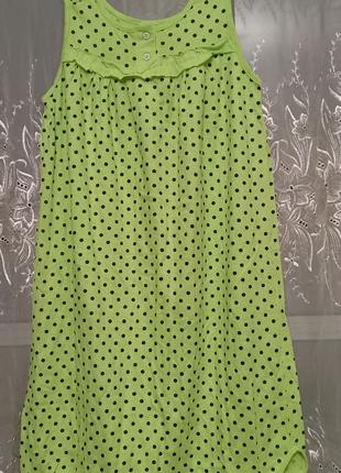 Трикотажная ночная рубашка 100% хлопок пр-во Узбекистан