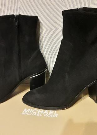 Michael Kors оригинал ботиночки - чулки ботильоны 7М 24см