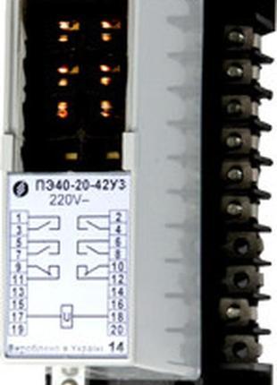 Реле промежуточные электромагнитные ПЭ40, ПЭ40‑М
