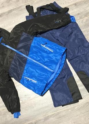 122-128р лыжный термо костюм комплект crivit pro куртка и полу...