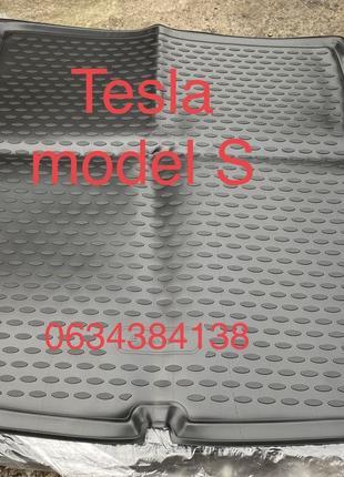 Коврики Полики багажника Tesla model S model 3 / Тесла модел С...