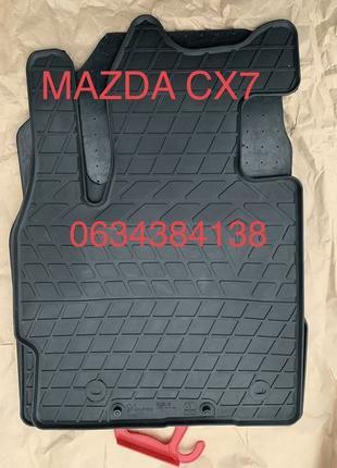 Коврики Полики Mazda CX-3 CX-5 CX-7 CX-9 CX-30 Мазда