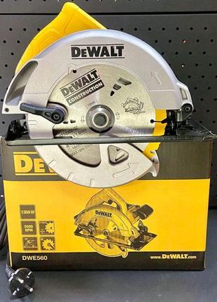 Дискова пила Dewalt DWE560
