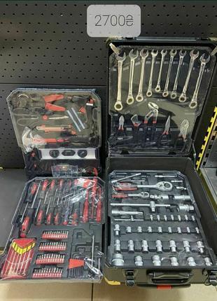 Набор инструмента набор ключей sturm 108од
