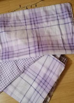 Сиреневый комплект постельного белья