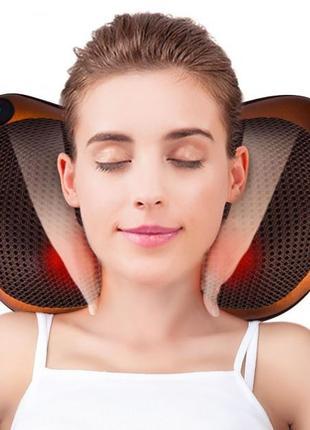 Массажная подушка Massage Pillow для спины, шеи и ног