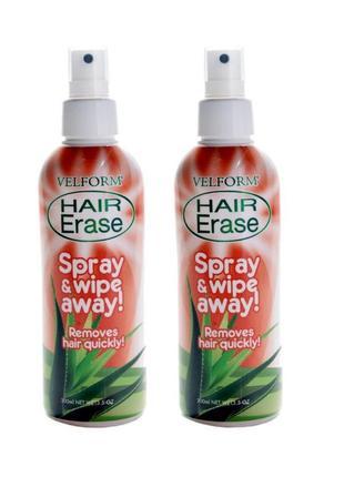 Спрей для депиляции Velform Hair Erase произведено в Европе