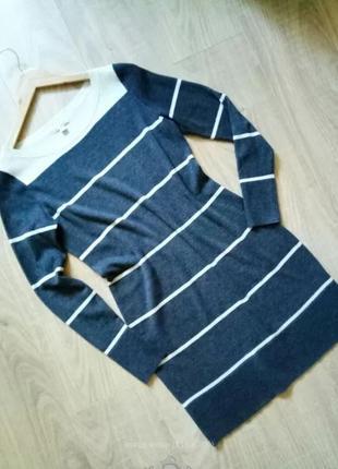 Теплое шерстяное платье Gap S-M