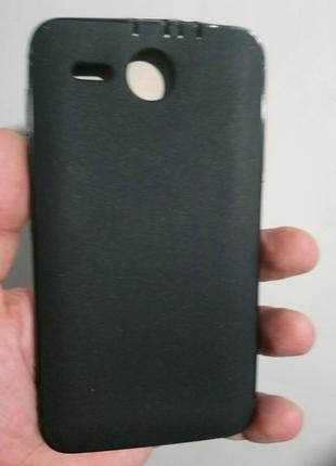 Чехол-бампер силиконовый lenovo a529