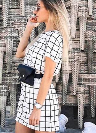 Платье женское + сумочка на пояс в подарок