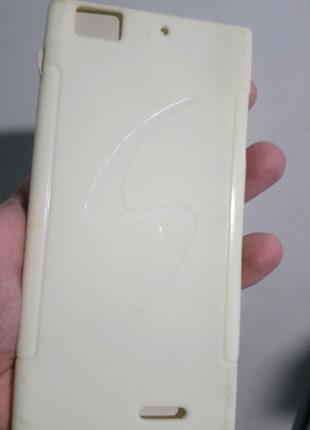 Чехол-бампер силиконовый lenovo k900