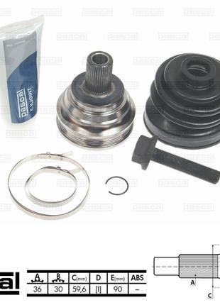 G1S007PC шрус колёсный (0.023689)(304327)