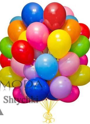 Набор воздушных цветных шариков, 20 шт. в упаковке