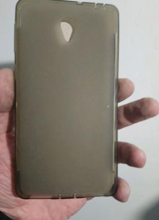 Чехол-бампер силиконовый lenovo s860