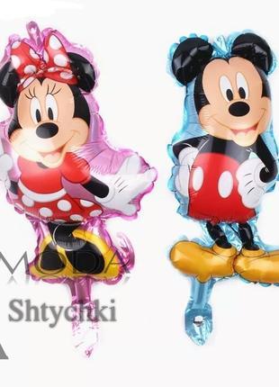 Воздушный шарик Микки и Минни Маус, шарики на День Рождения!
