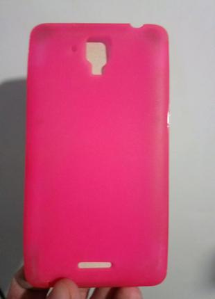 Чехол-бампер силиконовый lenovo a898t
