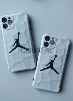Чехол Air Jordan Nike Белый для Iphone 11 Pro