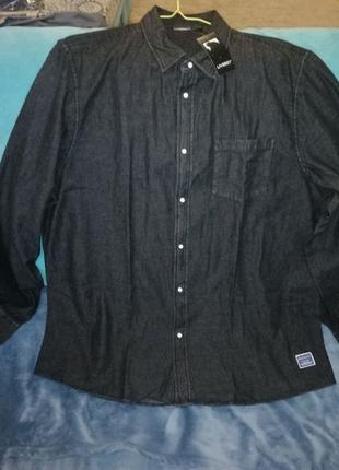 Классная джинсовая мужская рубашка Livergy