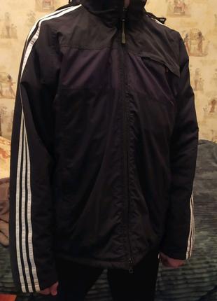 Фирменная зимняя куртка Adidas