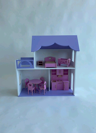 Кукольный дом 87 см Без мебели Мечта девочек